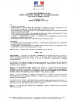 18-259-Arrêté portant autorisation d'utiliser des sources lumineuses pour des comptages de nuit