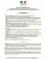 19-013-Arrêté portant autorisation de régulation par tir de nuit des renards par les lieutenants de louvetrie