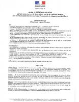ARRETE DDTM-SEBF-2018-186 tir nuit renards